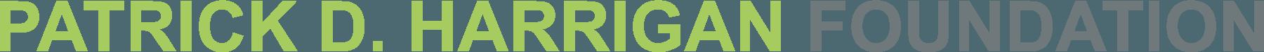 Patrick D. Harrigan Foundation Logo