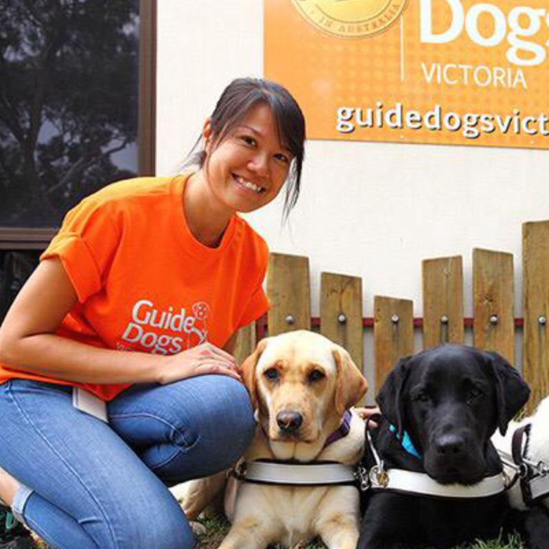 Christina Teng, Guide Dog Mobility Instructor (GDMI)