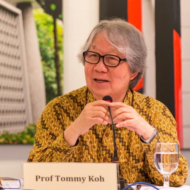 Prof Tommy Koh