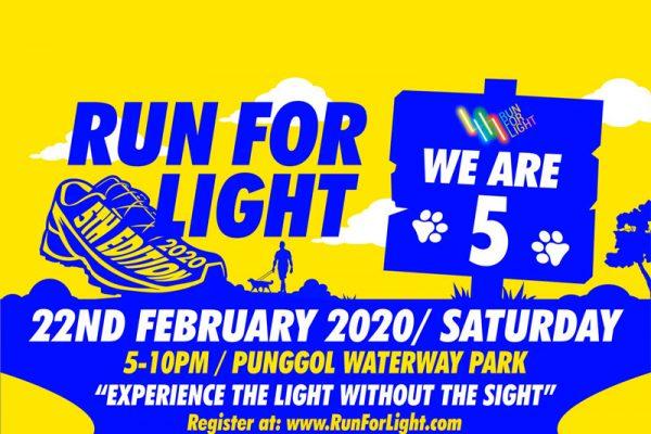 Run for Light 2020 Poster