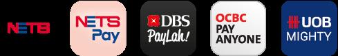 SGQR payment apps