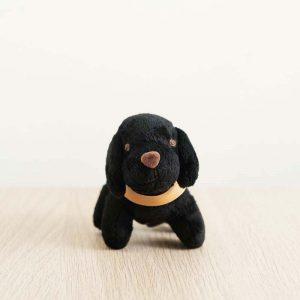 GDS merchandise black guide dog plushy key chain front profile